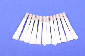 12 Nylon Kunstfaser Ersatzpinsel 4 mm Glasfaserradierer
