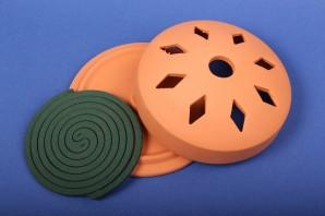 Favorit Halter für Insekten-Spirale aus Ton Mückenspirale Moskitospirale Anti-Mückenspirale