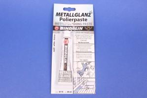 Bindulin Metallglanz 45 ml Polierpaste Silberblitz Edelstahl