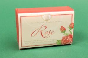 Florex Schafmilchseife eckig Rose Seife Handseife Duftseife Geschenk 100 g