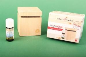 """ZirbenFamilie Original ZirbenWürfel """"Premium Edition"""""""