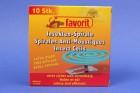 Favorit Insekten-Spirale 10 Stück Mückenspirale Moskitospirale Insektenspirale
