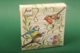 """Servietten """"Singing Birds"""" 25x25 cm"""