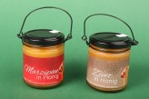 Honig im Henkelglas 2-fach sortiert Marizpan & Zimt (2x 250g)