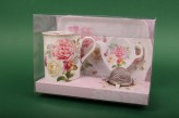 "Tee Set ""Romantic Lace"""