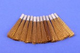 12 Messingdraht Ersatzpinsel 4 mm Glasfaserradierer
