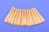 12 Naturborste Ersatzpinsel 4 mm Glasfaserradierer