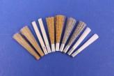 Ersatzpinsel im Set 4 mm Glasfaserradierer 10 Stück Polierstift Glasfaserstift