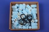100/23 Heizölfilter Siku Sieb blau Ölfilter 100 Stück + 23x O-Ring