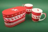 "Jumbotassen-Set ""Magic Christmas"""
