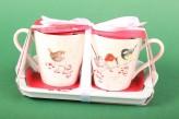 "Henkelbecher Set Mug & Tray ""One Snowy Day"""